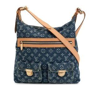 💎RARE💎Crossbody denim Louis Vuitton bag